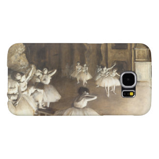 Edgar Degas | Ballet Rehearsal On Stage Samsung Galaxy S6 Cases