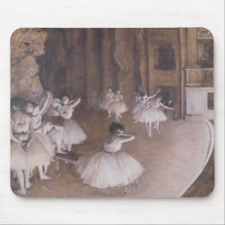 Edgar Degas | Ballet Rehearsal on the Stage, 1874 Mouse Mat
