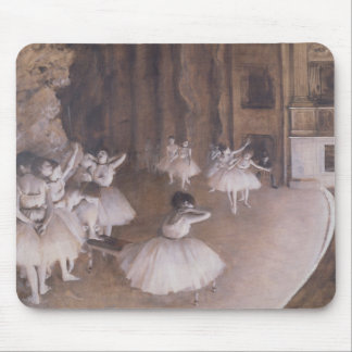 Edgar Degas | Ballet Rehearsal on the Stage, 1874 Mouse Pad
