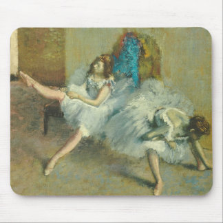 Edgar Degas | Before the Ballet, 1890-1892 Mouse Pad