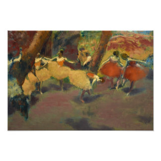 Edgar Degas – Before the Performance Photo Print