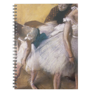 Edgar Degas Before The Rehearsal Notebook