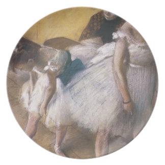 Edgar Degas Before The Rehearsal Plates