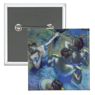 Edgar Degas | Blue Dancers, c.1899 15 Cm Square Badge