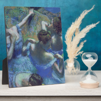 Edgar Degas | Blue Dancers, c.1899 Plaque