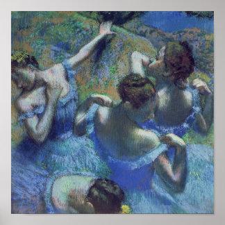 Edgar Degas | Blue Dancers, c.1899 Poster