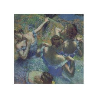 Edgar Degas   Blue Dancers, c.1899 Wood Print