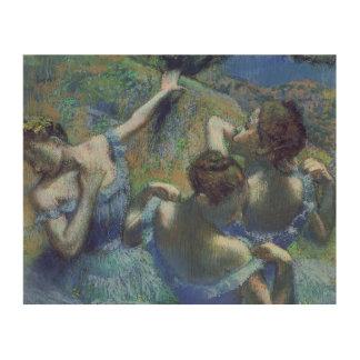 Edgar Degas | Blue Dancers, c.1899 Wood Prints