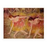 Edgar Degas - Bowing Dancers 1885 Girls Ballet