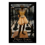 Edgar Degas: Bronze Ballerina Study Poster