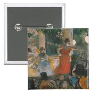 Edgar Degas | Cafe Concert at Les Ambassadeurs 15 Cm Square Badge