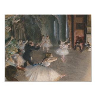 Edgar Degas Card