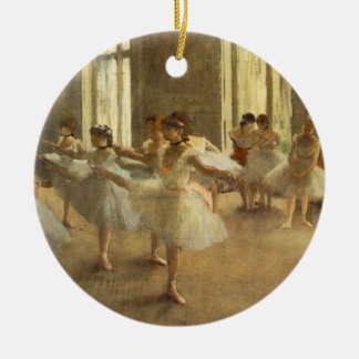 Edgar Degas Christmas Ornament