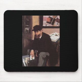 Edgar Degas Collector Of Prints Mouse Pad