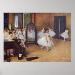 Edgar Degas - Dance Hall 1872 dancer ballerina oil