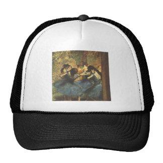 Edgar Degas - Dancer in Blue Ballet Ballerina Tutu Cap