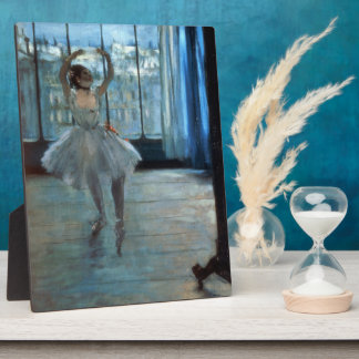 Edgar Degas | Dancer in Front of a Window Plaque