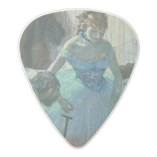 Edgar Degas | Dancer in her dressing room Acetal Guitar Pick