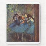 Edgar Degas - Dancers 1890 Ballet Girls oil canvas Mouse Pad