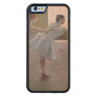 Edgar Degas   Dancers at Rehearsal, 1875-1877 Carved Maple iPhone 6 Bumper Case