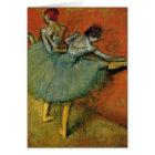 Edgar Degas | Dancers at the Bar Card