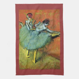 Edgar Degas - Dancers at the bar Kitchen Towel