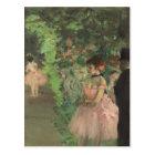 Edgar Degas | Dancers Backstage, 1876-1883 Postcard