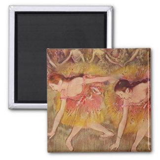 Edgar Degas Dancers Bending Down Magnet
