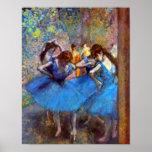 Edgar Degas - Dancers In Blue