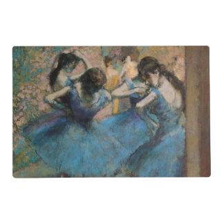 Edgar Degas | Dancers in blue, 1890 Laminated Placemat
