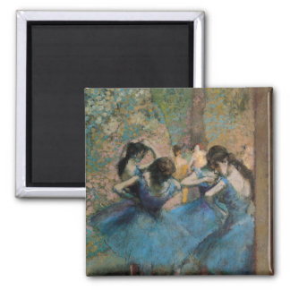 Edgar Degas | Dancers in blue, 1890 Magnet