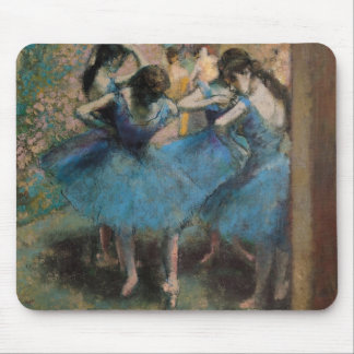 Edgar Degas   Dancers in blue, 1890 Mouse Pad