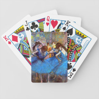 Edgar Degas - Dancers In Blue - Ballet Dance Lover Bicycle Playing Cards