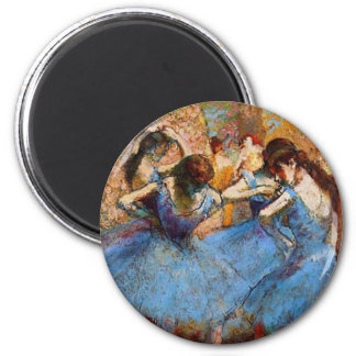 Edgar Degas - Dancers in Blue Refrigerator Magnets