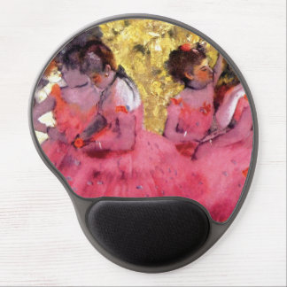 Edgar Degas - Dancers in Pink - Ballet Dance Lover Gel Mouse Pad