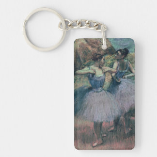 Edgar Degas | Dancers in Violet Key Ring
