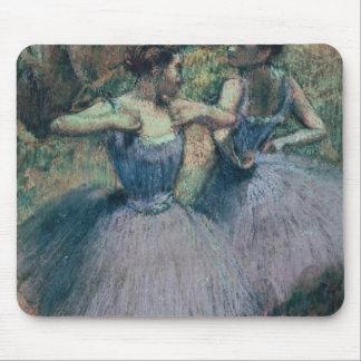 Edgar Degas | Dancers in Violet Mouse Mat