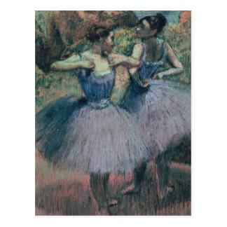 Edgar Degas | Dancers in Violet Postcard