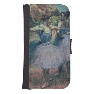 Edgar Degas | Dancers in Violet Samsung S4 Wallet Case