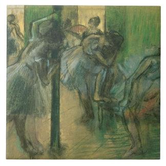 Edgar Degas | Dancers rehearsing Large Square Tile