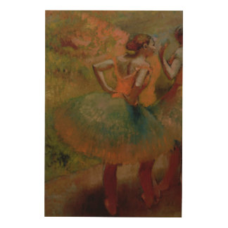 Edgar Degas | Dancers Wearing Green Skirts Wood Canvases