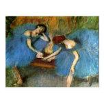 Edgar Degas Dancing Ballerinas Fine Art Postcard
