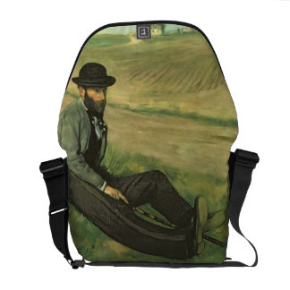 Edgar Degas | Eugene Manet Courier Bag