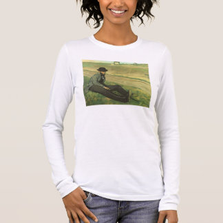 Edgar Degas | Eugene Manet Long Sleeve T-Shirt