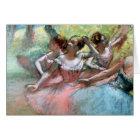 Edgar Degas | Four ballerinas on the stage Card