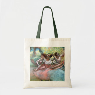 Edgar Degas | Four ballerinas on the stage Tote Bag