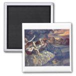 Edgar Degas - Four Dancers 1899 Ballet Canvas Magnets