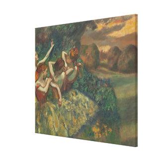 Edgar Degas | Four Seasons in the One Head, c.1590 Canvas Print