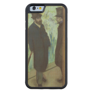 Edgar Degas | Friends at the Theatre Carved Maple iPhone 6 Bumper Case