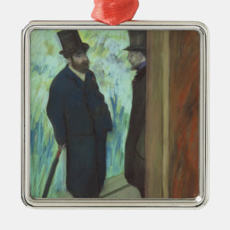 Edgar Degas | Friends at the Theatre Christmas Ornament